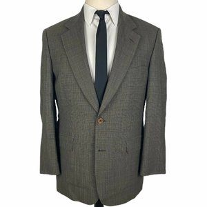 Brooks Brothers Stretch Sport Coat Blazer 39S Gray